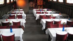 diner met middenpad